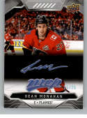 2019-20 Upper Deck MVP Super Script Hockey #206 Sean Monahan SER/25 Calgary Flames Official NHL Trading Card from UD