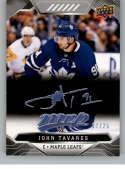 2019-20 Upper Deck MVP Super Script Hockey #214 John Tavares SER/25 Toronto Maple Leafs Official NHL Trading Card from U