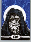 2019 Topps Chrome Star Wars Legacy Sketch Cards NonSport #NNO Shawn Cruz (The Emperor) Official TRADING CARD from Topps