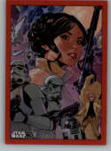 2019 Topps Chrome Star Wars Legacy Poster Card Refractors Red NonSport #PC-10 Star Wars: The Empire Strikes Back Special