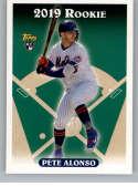 2019 Topps Archives Baseball #330 Pete Alonso SP Short Print New York Mets (1993 Topps Design) Official MLB Trading Card