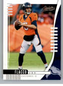 2019 Absolute Football #45 Joe Flacco Denver Broncos Official NFL Trading Card From Panini America