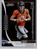 2019 Absolute Football #115 Drew Lock RC Rookie Card Denver Broncos Official NFL Trading Card From Panini America