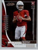 2019 Absolute Football #126 Kyler Murray RC Rookie Card Arizona Cardinals Official NFL Trading Card From Panini America