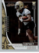 2019 Absolute Football #174 Lil'Jordan Humphrey RC Rookie Card New Orleans Saints Official NFL Trading Card From Panini