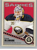 2019-20 O-Pee-Chee Retro Hockey #34 Linus Ullmark Buffalo Sabres Official NHL Trading Card From Upper Deck OPC
