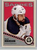 2019-20 O-Pee-Chee Retro Hockey #405 Zach Bogosian Buffalo Sabres Official NHL Trading Card From Upper Deck OPC