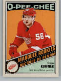 2019-20 O-Pee-Chee Retro Hockey #542 Ryan Kuffner RC Rookie Card Detroit Red Wings Official NHL Trading Card From Upper