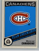 2019-20 O-Pee-Chee Retro Hockey #566 Montreal Canadiens Montreal Canadiens TC Team Checklist Official NHL Trading Card F