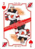 2019-20 O-Pee-Chee Playing Cards Hockey #2-HEARTS Nico Hischier New Jersey Devils Official NHL Trading Card From OPC Upp
