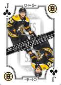 2019-20 O-Pee-Chee Playing Cards Hockey #J-CLUBS Brad Marchand Boston Bruins Official NHL Trading Card From OPC Upper De