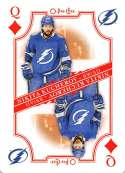 2019-20 O-Pee-Chee Playing Cards Hockey #Q-DIAMONDS Nikita Kucherov Tampa Bay Lightning Official NHL Trading Card From O
