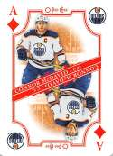 2019-20 O-Pee-Chee Playing Cards Hockey #A-DIAMONDS Connor McDavid Edmonton Oilers Official NHL Trading Card From OPC Up