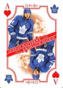 2019-20 O-Pee-Chee Playing Cards Hockey #A-HEARTS Auston Matthews Toronto Maple Leafs Official NHL Trading Card From OPC