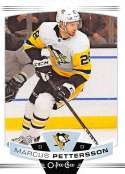 2019-20 O-Pee-Chee Hockey #213 Marcus Pettersson Pittsburgh Penguins Official OPC NHL Trading Card From Upper Deck
