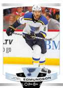 2019-20 O-Pee-Chee Hockey #235 Joel Edmundson St. Louis Blues Official OPC NHL Trading Card From Upper Deck