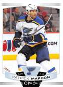 2019-20 O-Pee-Chee Hockey #297 Patrick Maroon St. Louis Blues Official OPC NHL Trading Card From Upper Deck