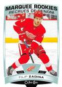 2019-20 O-Pee-Chee Hockey #501 Filip Zadina RC Rookie Card Detroit Red Wings Official OPC NHL Trading Card From Upper De