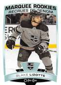 2019-20 O-Pee-Chee Hockey #514 Blake Lizotte RC Rookie Card Los Angeles Kings Official OPC NHL Trading Card From Upper D