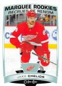 2019-20 O-Pee-Chee Hockey #517 Jake Chelios RC Rookie Card Detroit Red Wings Official OPC NHL Trading Card From Upper De