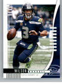 2019 Panini Absolute Green Football #91 Russell Wilson Seattle Seahawks