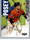 2019 Topps Fire Baseball #191 Buster Posey San Francisco Giants Official MLB Trading Card - Retail Exclusive