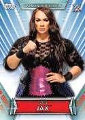 2019 Topps Women's Division Wrestling #10 Nia Jax Official World Wrestling Entertainment Trading Card