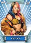 2019 Topps Women's Division Wrestling #19 Asuka Official World Wrestling Entertainment Trading Card