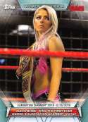 2019 Topps Women's Division Wrestling #65 Alexa Bliss Wins Elimination Chamber Official World Wrestling Entertainment Tr