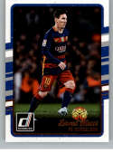 2016-17 Donruss Soccer #29 Lionel Messi FC Barcelona Official Futbol Trading Card From Panini America