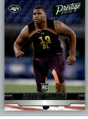 2019 Prestige Rookies Football #222 Quinnen Williams RC Rookie Card New York Jets Official Retail NFL Trading Card From