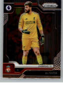 2019-20 Prizm English Premier League (EPL) Soccer #84 Alisson Liverpool FC Official Futbol Card From Panini America