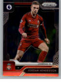 2019-20 Prizm English Premier League (EPL) Soccer #97 Jordan Henderson Liverpool FC Official Futbol Card From Panini Ame