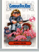 2019 Topps Garbage Pail Kids Revenge of Oh, The Horror-ible 1980's Horror Stickers NonSport #14A BOBBY GUM Series Two Co