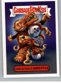 2019 Topps Garbage Pail Kids Revenge of Oh, The Horror-ible Horror Personality Stickers NonSport #2B CONFLICTING CARPENT