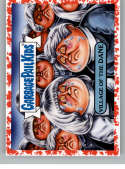 2019 Topps Garbage Pail Kids Revenge of Oh, The Horror-ible Blood Splatter Red Retro Horror Stickers NonSport #15A VILLA