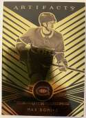 2019-20 Artifacts Aurum Hockey #A-19 Max Domi Montreal Canadiens Official NHL Trading Card From Upper Deck