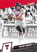 2019 Panini National Convention Silver Pack Set College MultiSport #PM Patrick Mahomes II Texas Tech Red Raiders Officia