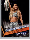 2019 Topps WWE Smackdown Live 20 Years of SmackDown Wrestling #SD-40 Carmella Official World Wrestling Entertainment Tra