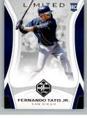 2019 Chronicles Limited Baseball #3 Fernando Tatis Jr. RC Rookie Card San Diego Padres Official MLBPA Trading Card From