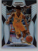 2019-20 Prizm Draft Silver Prizms Basketball #65 Ja Morant Murray State Racers Official NCAA Trading Card From Panini Am