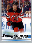 2019-20 Upper Deck Series One Hockey #201 Jack Hughes YG Young Guns RC Rookie Card New Jersey Devils Official NHL Tradin
