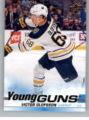 2019-20 Upper Deck Series One Hockey #207 Victor Olofsson YG Young Guns RC Rookie Card Buffalo Sabres Official NHL Tradi