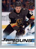 2019-20 Upper Deck Series One Hockey #237 Cody Glass YG Young Guns RC Rookie Card Vegas Golden Knights Official NHL Trad