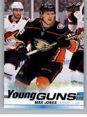2019-20 Upper Deck Series One Hockey #242 Max Jones YG Young Guns RC Rookie Card Anaheim Ducks Official NHL Trading Card