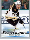 2019-20 Upper Deck Series One Hockey #243 Connor Clifton YG Young Guns RC Rookie Card Boston Bruins Official NHL Trading