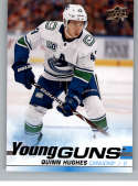 2019-20 Upper Deck Series One Hockey #249 Quinn Hughes YG Young Guns RC Rookie Card Vancouver Canucks Official NHL Tradi