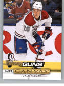 2019-20 Upper Deck Series One UD Canvas Hockey #C99 Cale Fleury Montreal Canadiens Young Guns YG Official NHL Hockey Car