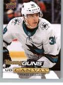 2019-20 Upper Deck Series One UD Canvas Hockey #C100 Mario Ferraro San Jose Sharks Young Guns YG Official NHL Hockey Car