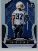 2019 Prizm Silver Prizms (Refractor) Football #382 Nasir Adderley Los Angeles Chargers Official NFL Trading Card From Pa